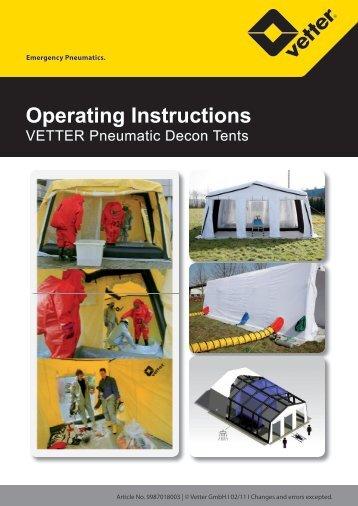 Operating Instructions - Vetter GmbH