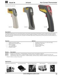 41 Model 99 Infrared Non-Contact Thermometer