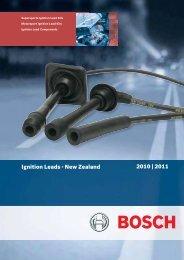 NZ Ignition Leads Catalogue 2010 - Bosch New Zealand