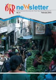 ISFNR Newsletter No. 6 February 2012 (in pdf-format)