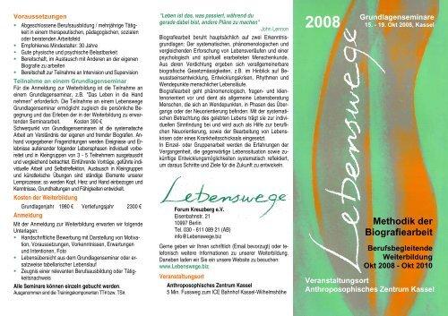 Methodik der Biografiearbeit - Berufsvereinigung Biografiearbeit auf ...