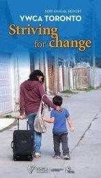 2011 YWCA Toronto Annual Report