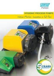 Hygienic process pumps (UK)(PDF : 3555.9 KB) - Watson-Marlow