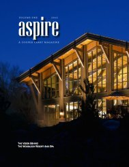 VOLUME ONE 2012 A COOPER CARRY MAGAZINE