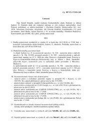 č.j. 007 EX 173/03-140 Usnesení Mgr. Kamil Brančík, soudní ...