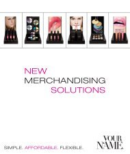 merchandising new solutions - Your Name Professional Brands