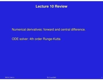 Lecture 11 (pdf)