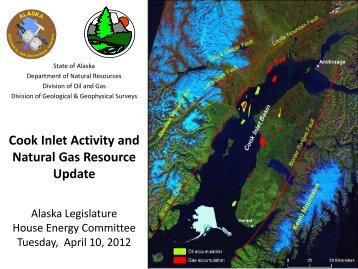 Cook Inlet Activity and Natural Gas Resource Update. House Energy ...