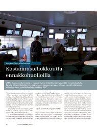 Kustannustehokkuutta ennakkohuolloilla - Siemens