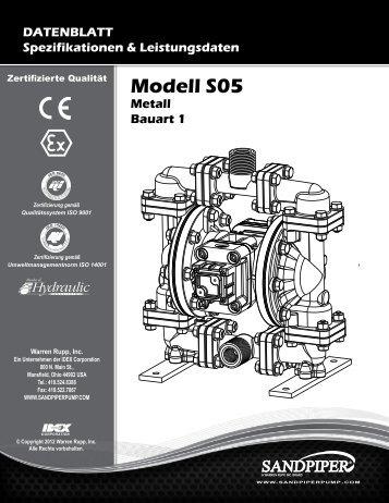 Modell S05 Metall Bauart 1