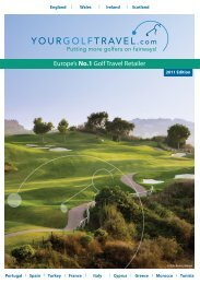 WITH US? - Your Golf Travel