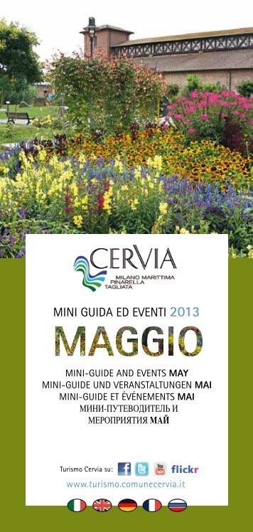 Mini guida e eventi maggio 2013 - Turismo Comune di Cervia