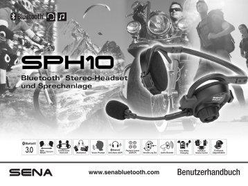Benutzerhandbuch - Sena Bluetooth