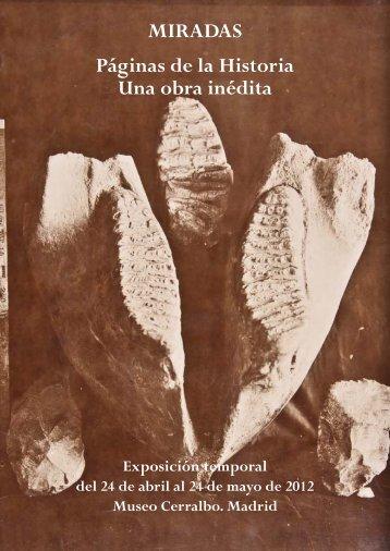 páginas de la historia patria. una obra inédita. - Museo Cerralbo