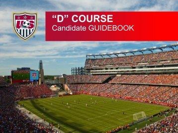 Candidate GUIDEBOOK - Utah Youth Soccer Association