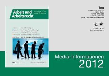 Media-Informationen - Arbeit und Arbeitsrecht
