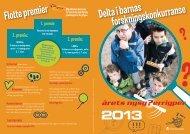 2013 Delta i barnas forskningskonkurranse Flotte ... - Nysgjerrigper