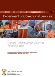 As part of our commitment to rehabilitation of offenders, the ...