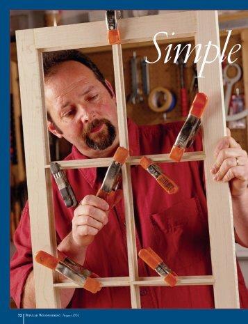 August 2002 Popular Woodworking - Popular Woodworking Magazine