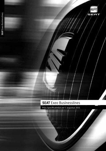Prijslijst SEAT Exeo businesslines per 01-08-2011.pdf - Fleetwise