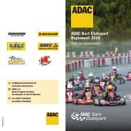ADAC Kart Clubsport Reglement 2010 - Youngster-Cup.de