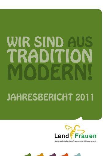 JAHREsbERicHt 2011 - Niedersächsischer Landfrauenverband ...
