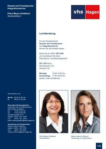 Lernberatung - VHS-Studienreise.de