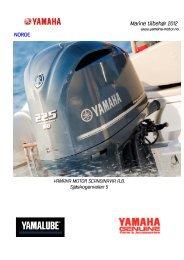 Marine tilbehør 2012 NORGE - Yamaha Motor Europe