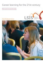 Career learning for the 21st century - Learning and Skills ...