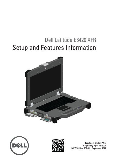 Dell DCS-1130 Setup and Features Guide - Dell Support