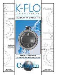 Crispin K-Flo Butterfly Valve - PEC-KC.com