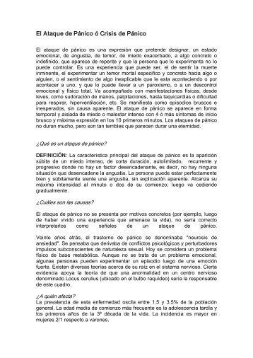 Pánico - Colegio de Medicina Interna de México