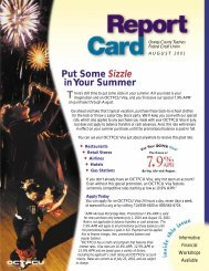 T Put Some Sizzle in Your Summer - SchoolsFirst Federal Credit ...