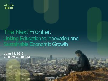 June 15, 2012 4:30 PM – 6:00 PM - Global Education Leaders ...