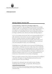 1. Sammanfattning av läget för de mänskliga rättigheterna I ...