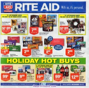 i heart rite aid: 12/14 - 12/17 4 day ad
