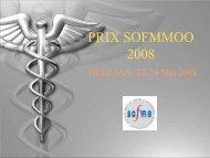 PRIX SOFMMOO 2008