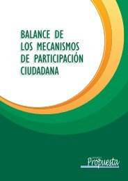 1-12 Cartilla Balance.indd - Grupo Propuesta Ciudadana