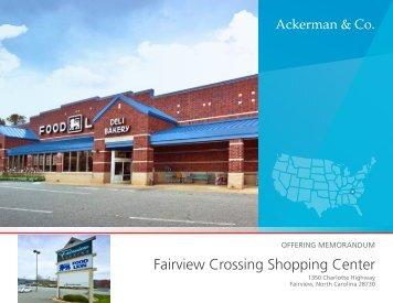 Fairview Crossing Shopping Center - Ackerman & Co.