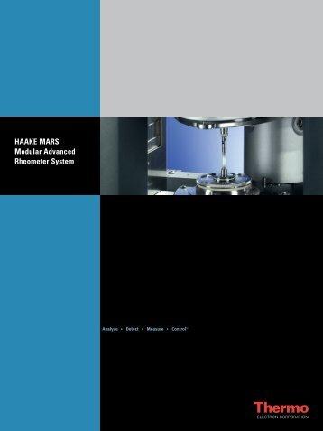 HAAKE MARS Modular Advanced Rheometer System