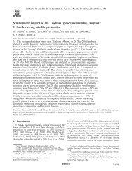 Stratospheric impact of the Chisholm pyrocumulonimbus eruption: 1 ...