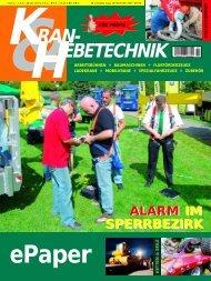 KRAN- EBETECHNIK - NFM Verlag Nutzfahrzeuge Management