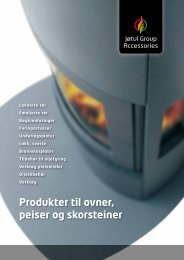 Produkter til ovner, peiser og skorsteiner - varmehuset