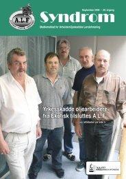 Syndrom nr 3 - 2006.indd - Arbeidsmiljøskaddes landsforening
