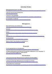 Schreiben fördern - Gesamtschule Eiserfeld