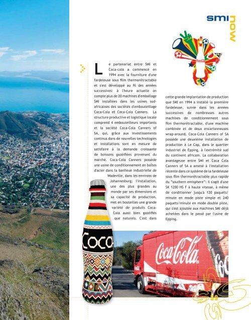 coca cola canners - afrique du sud