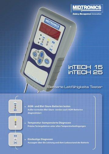 AGM- und Blei-Säure-Batterien testen
