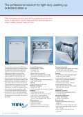 G 8050 semi-commercial dishwasher - Goodman Sparks - Page 2
