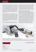 Automatisiertes Entgraten von Kunststoffteilen mit Heissluft - Leister - Seite 2
