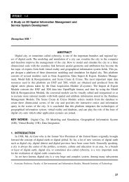 A Study on 3D Spatial Information Management and  Service System ...